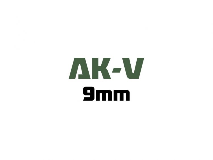 for AK-V - 9mm