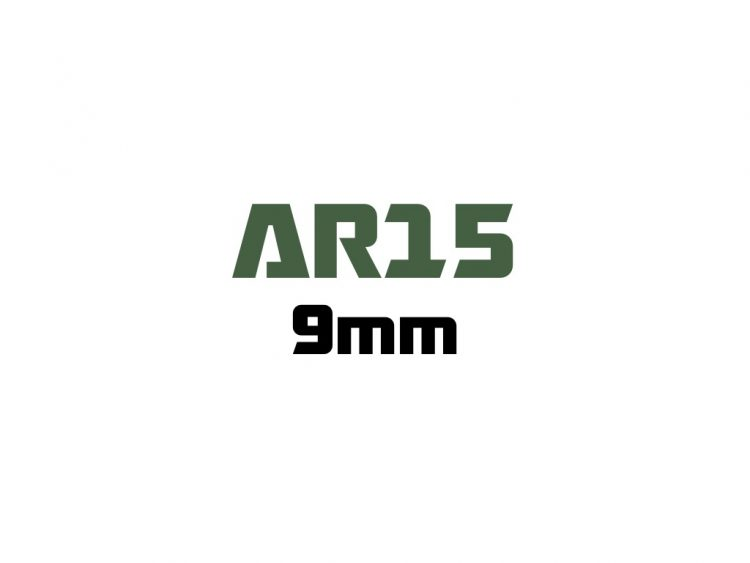 for AR15 - 9mm