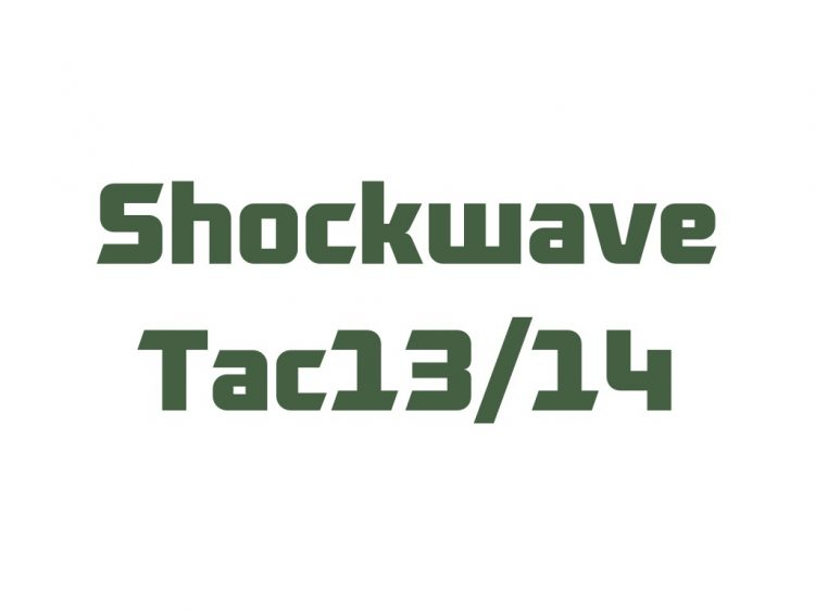 for Shockwave - Tac13/14